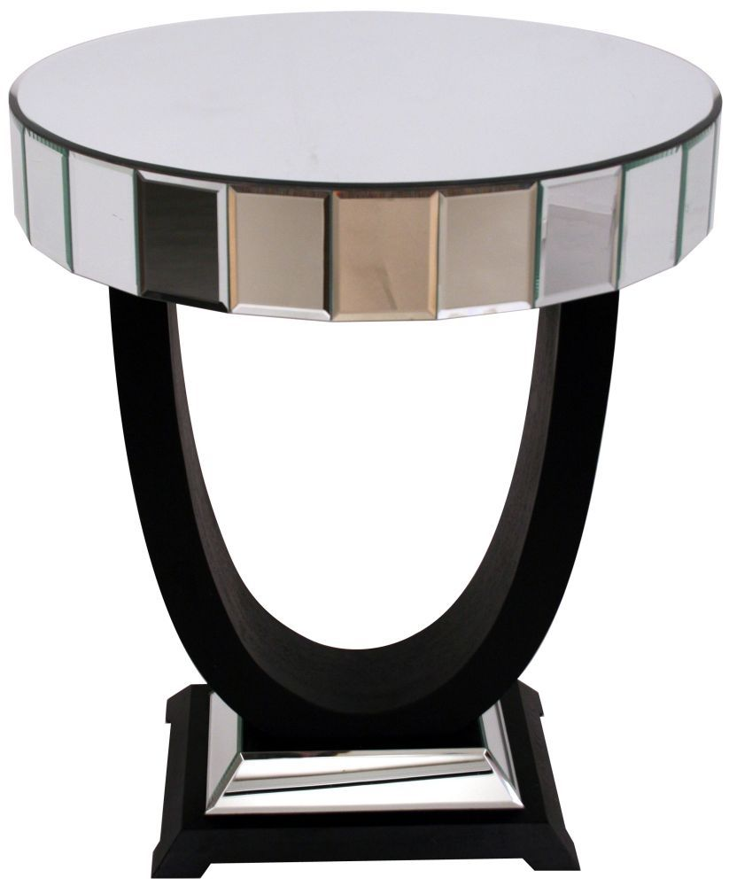 RV Astley Mirrored Side Table