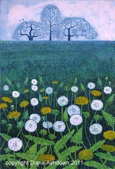 Image result for dandelion field