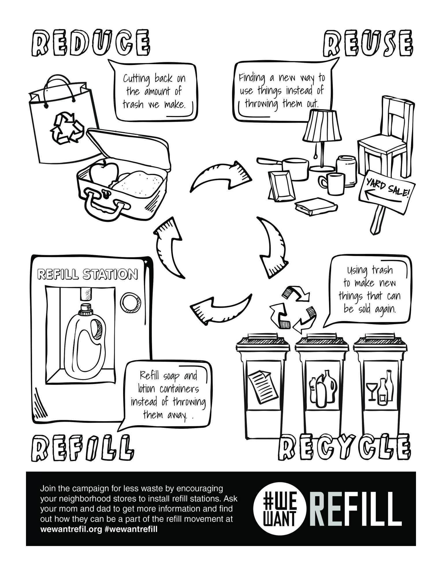11 Reduce Reuse Recycle Worksheet Kindergarten