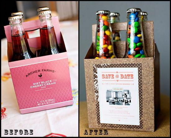 M In A Bottle Four Pack Cute Gift