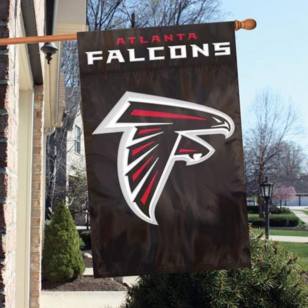 Atlanta Falcons 44 X 28 Double Sided House Flag Atlanta Falcons Banner Atlanta Falcons Atlanta Falcons Logo