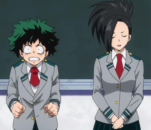 s01e09 My hero academia, Hero, Anime