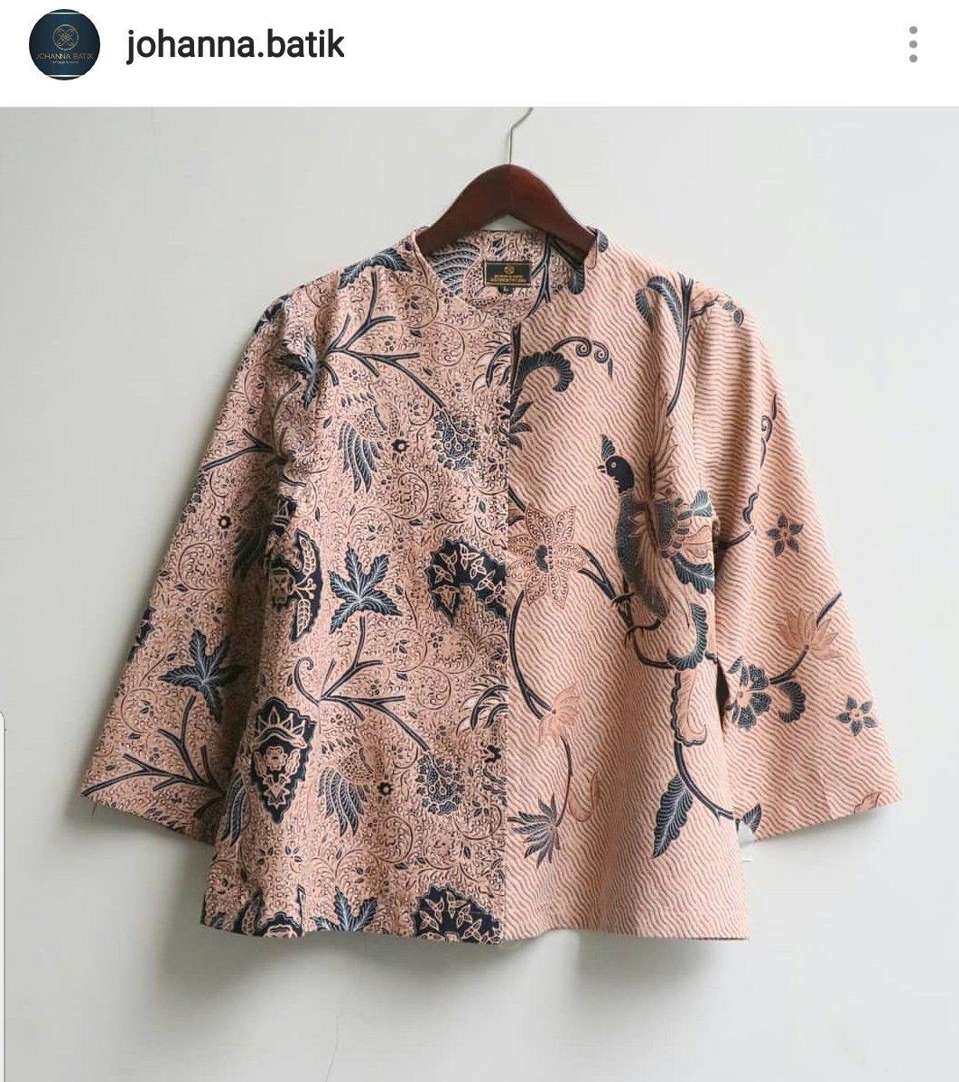 Baju batik pin  Desain blus, Model baju wanita, Pakaian wanita