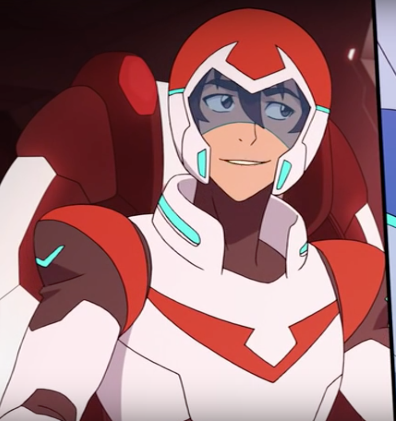 Keith the Red Paladin with a mischievous cute smile from Voltron Legendary Defender | Voltron ...