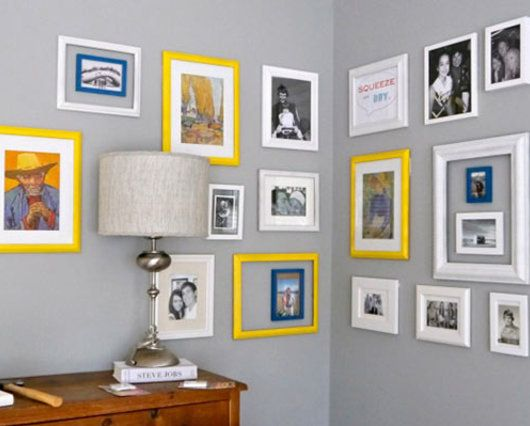 How To Hang Frames On Walls Without Nails