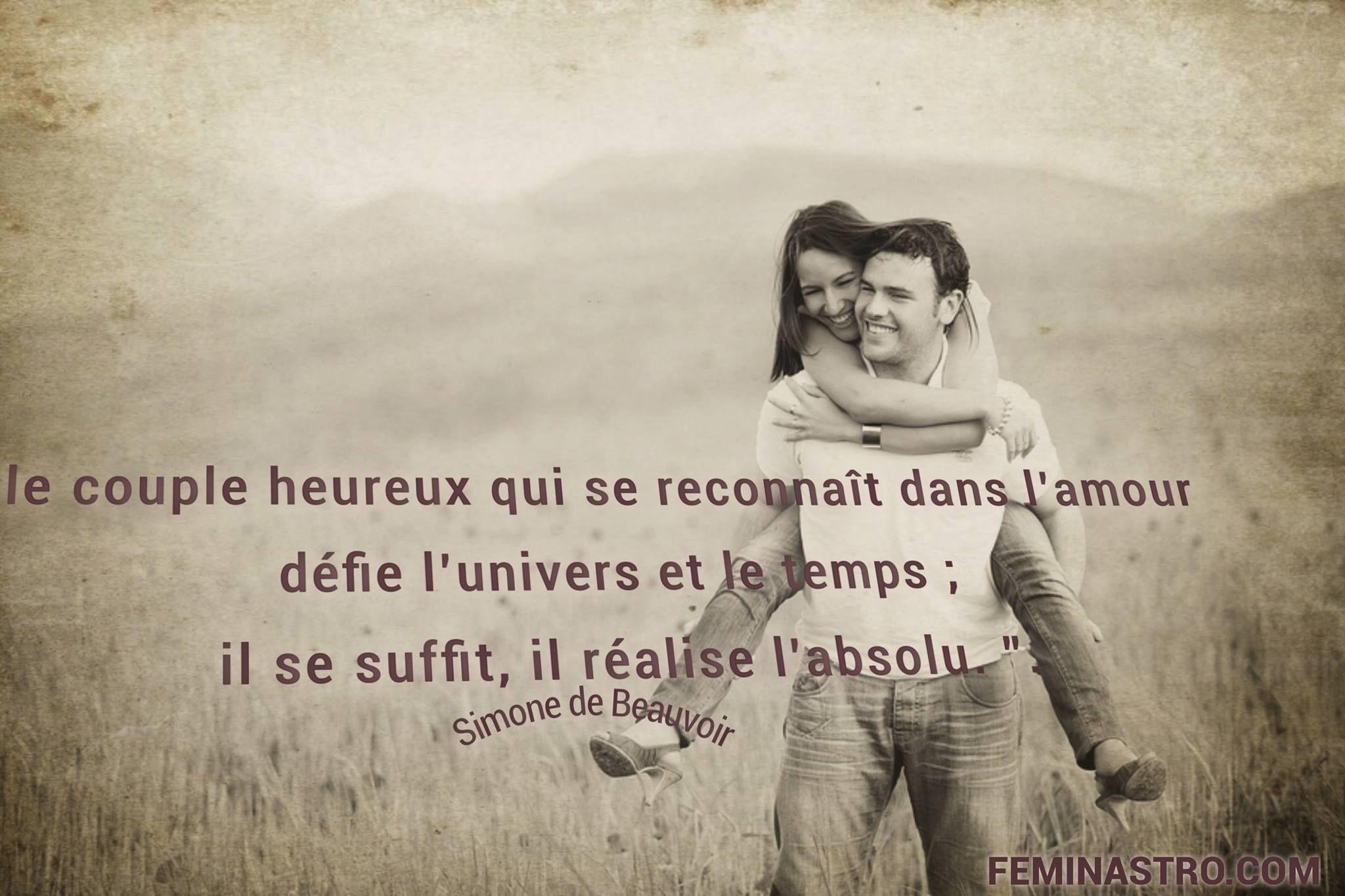 Le Couple Heureux Couple Citations Proverbes Amour