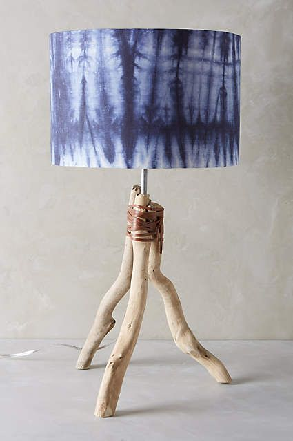 Branched Tripod Table Lamp Ensemble Anthropologie Com Interior