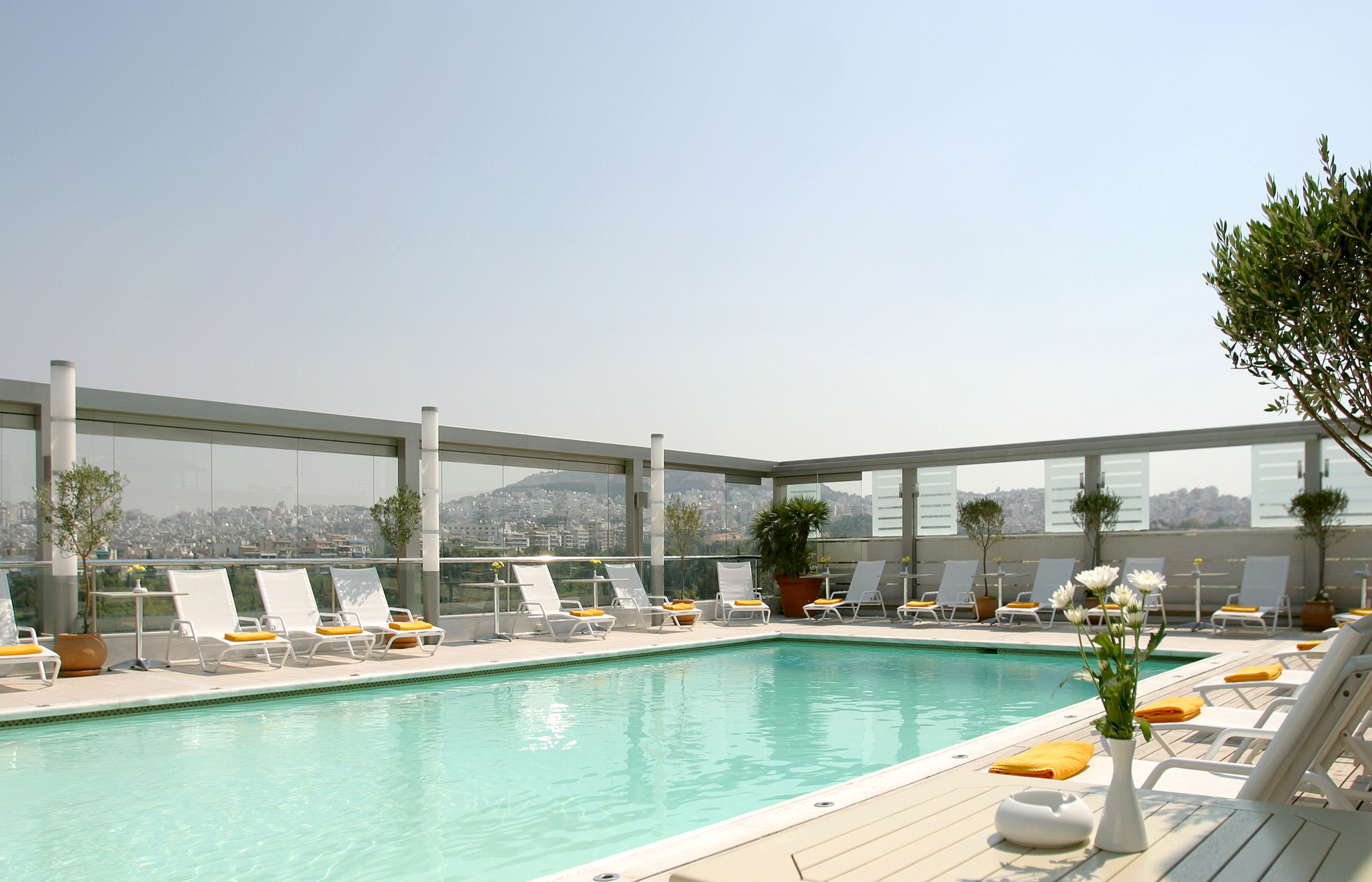 Wonderful The Outdoor Rooftop Swimming Pool Offers A Breathtaking View Of Lycabettus  Hill.