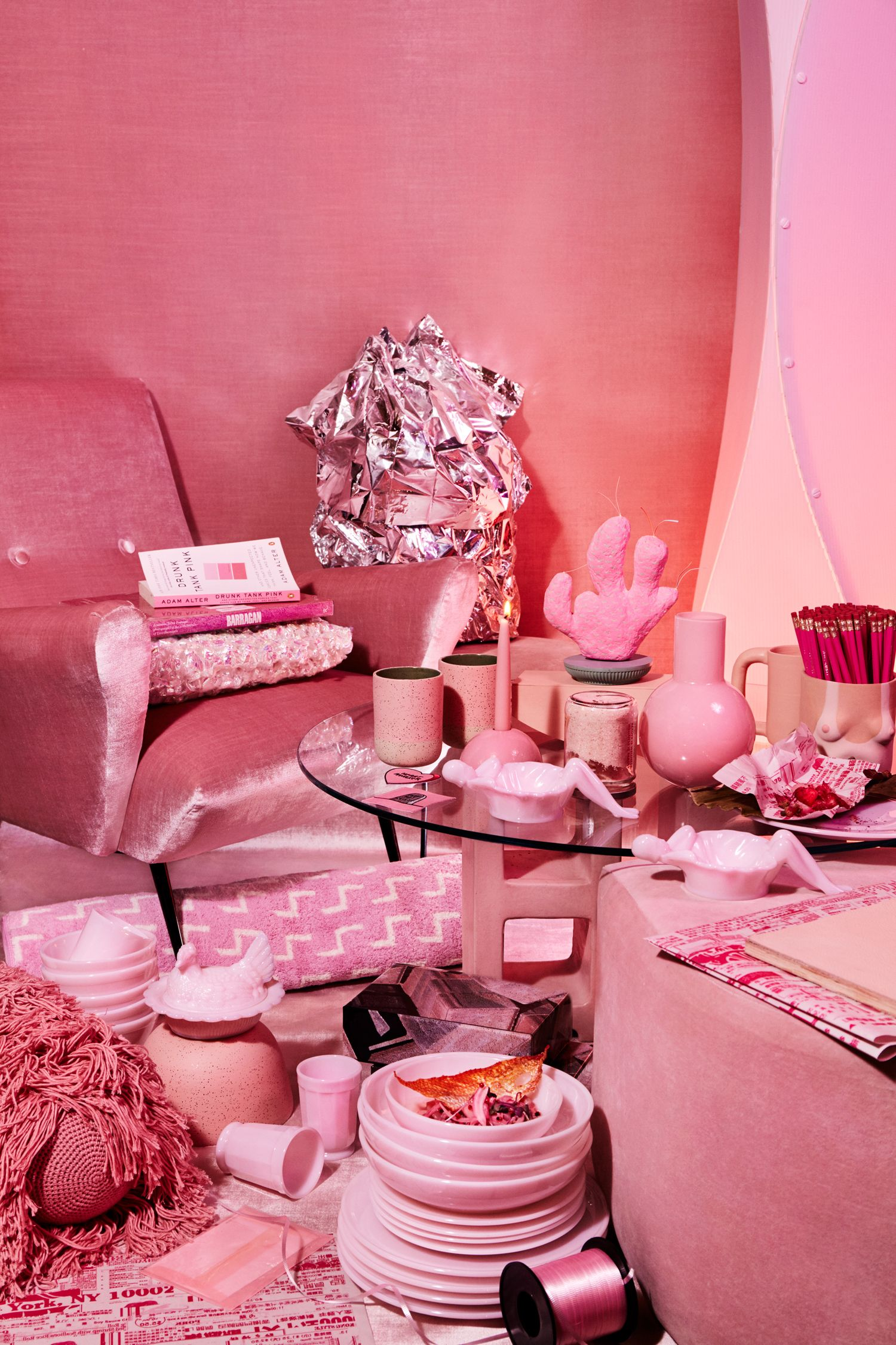 Catch us in Sight Unseen x Coming Soon NY's Pink Extravaganza