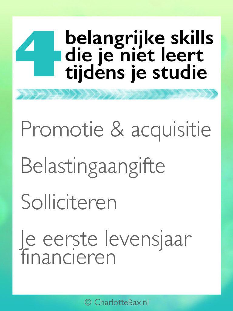 acquisitie sollicitatie 4 belangrijke skills die je niet leert tijdens je studie: promotie  acquisitie sollicitatie