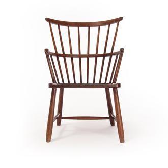 Attrayant Danish Modern Windsor Chair   Danish Teak Classics