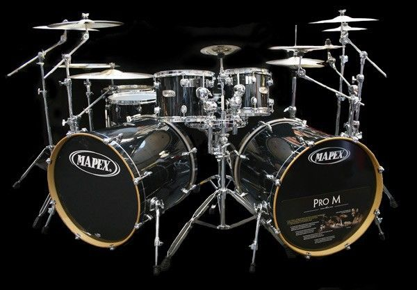 soon to be stocked with these the mapex master drum kit