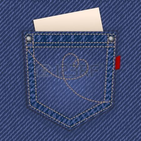 ジーンズのポケット