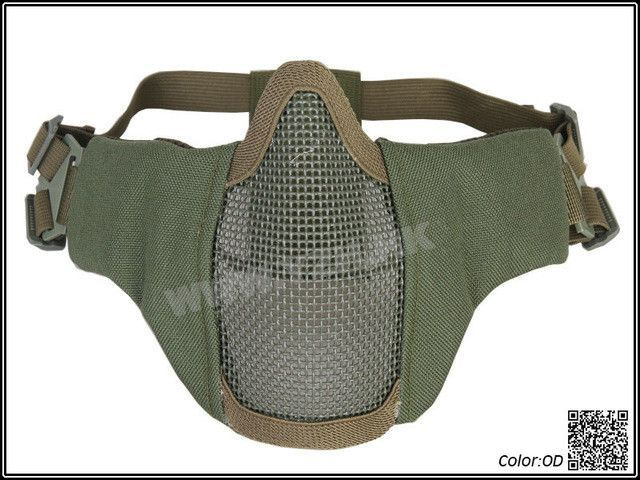 Tactical Airsoft Protective Mask Metal Steel Net for Paintball