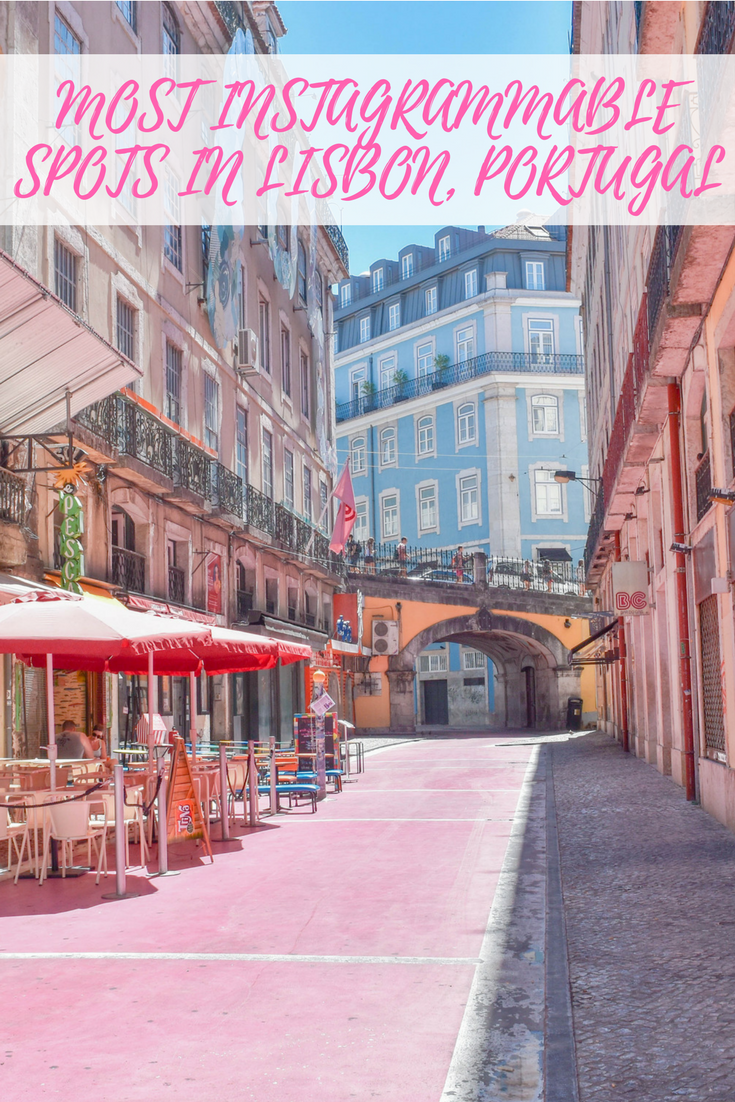 The most Instagrammable Spots in Lisbon, Portugal #portugal