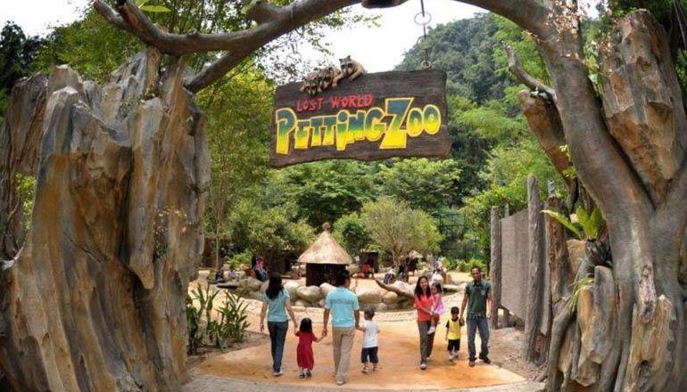 Lost World Of Tambun Theme Park And Resort Petting Zoo