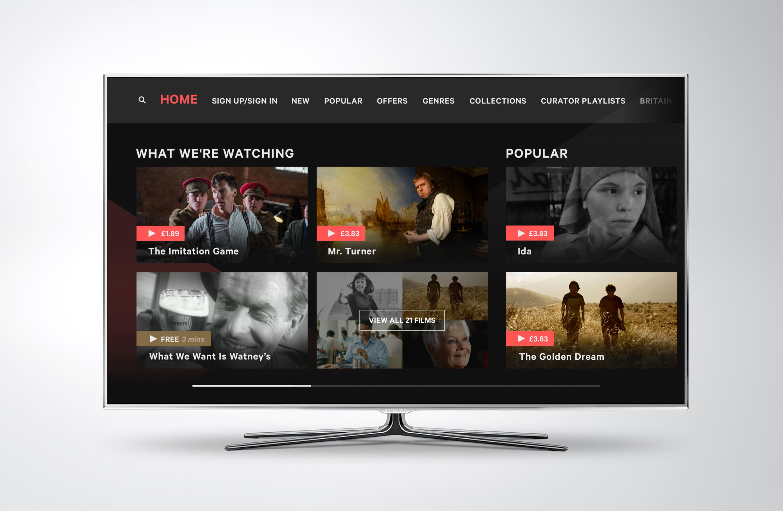 Pin on TV UI Design