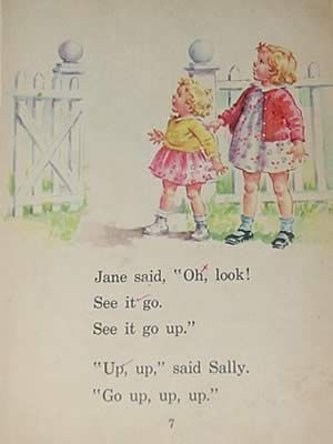 spot jane sally books dick