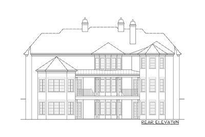 plan 12278jl six bedroom luxury chateau luxurious