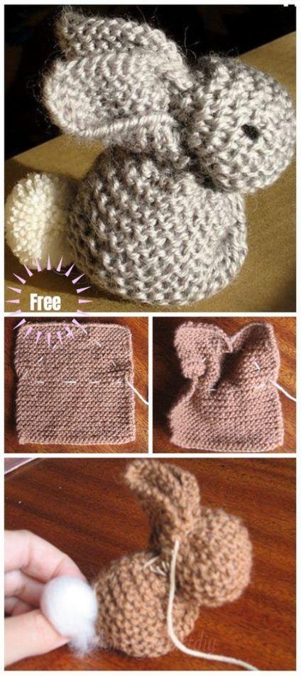 Crochet slippers bunny knitting patterns 50+ New ideas # ...