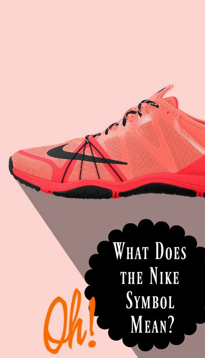 What Does The Nike Symbol Mean Oh My Thats Interesting Random