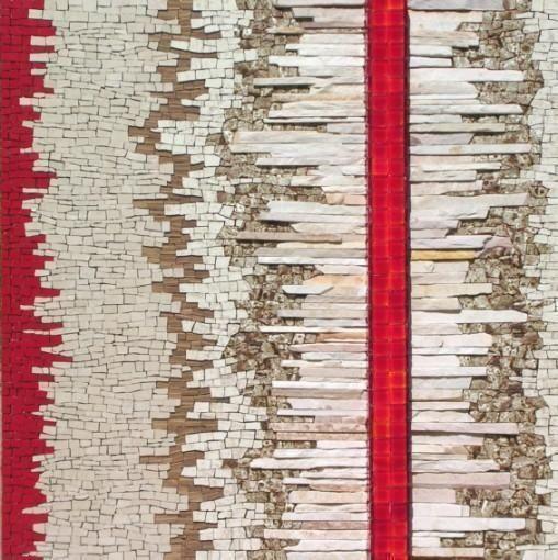 Abstract mosaic by Vermelho..