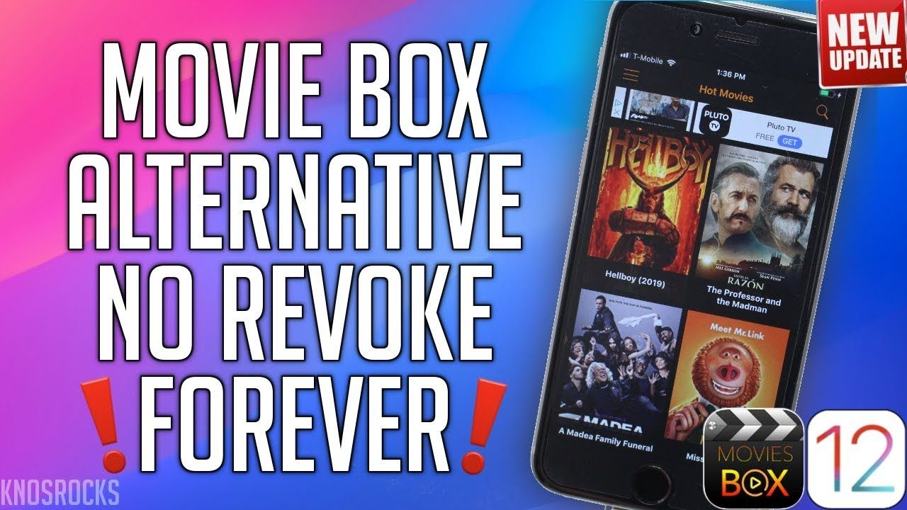 2019 FREE Movie BOX Alternative Watch Movies & TV Shows iOS