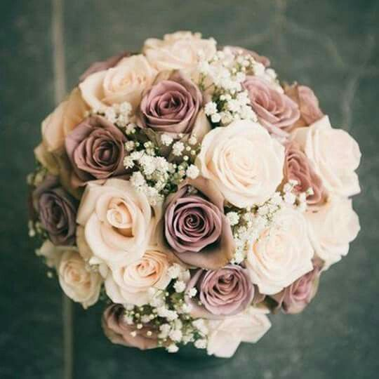 Bridesmaids bouquets... love this neutral color palette