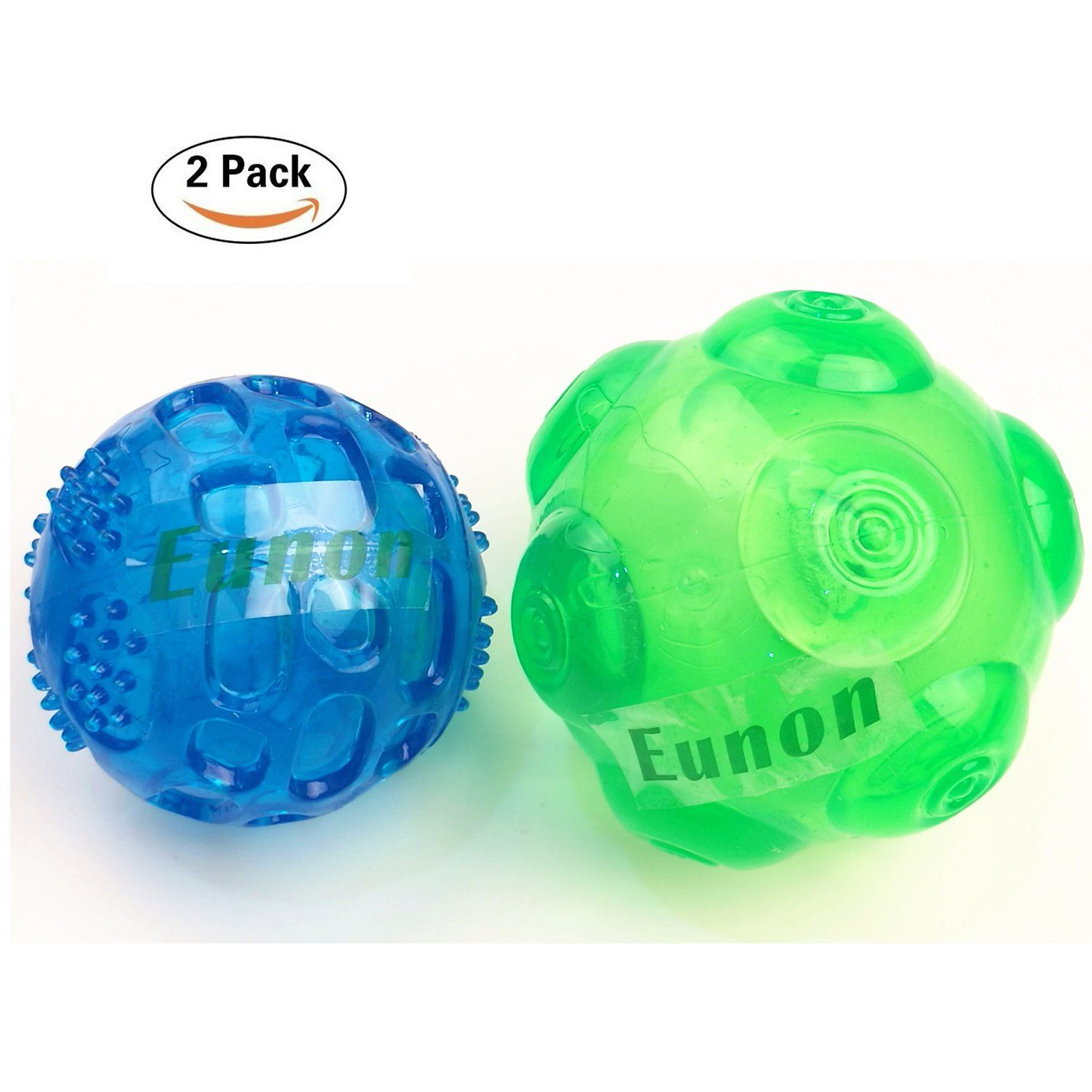Eunon Dog Ball 3 5 Inch Durable Rubber Dog Toy Indestructible