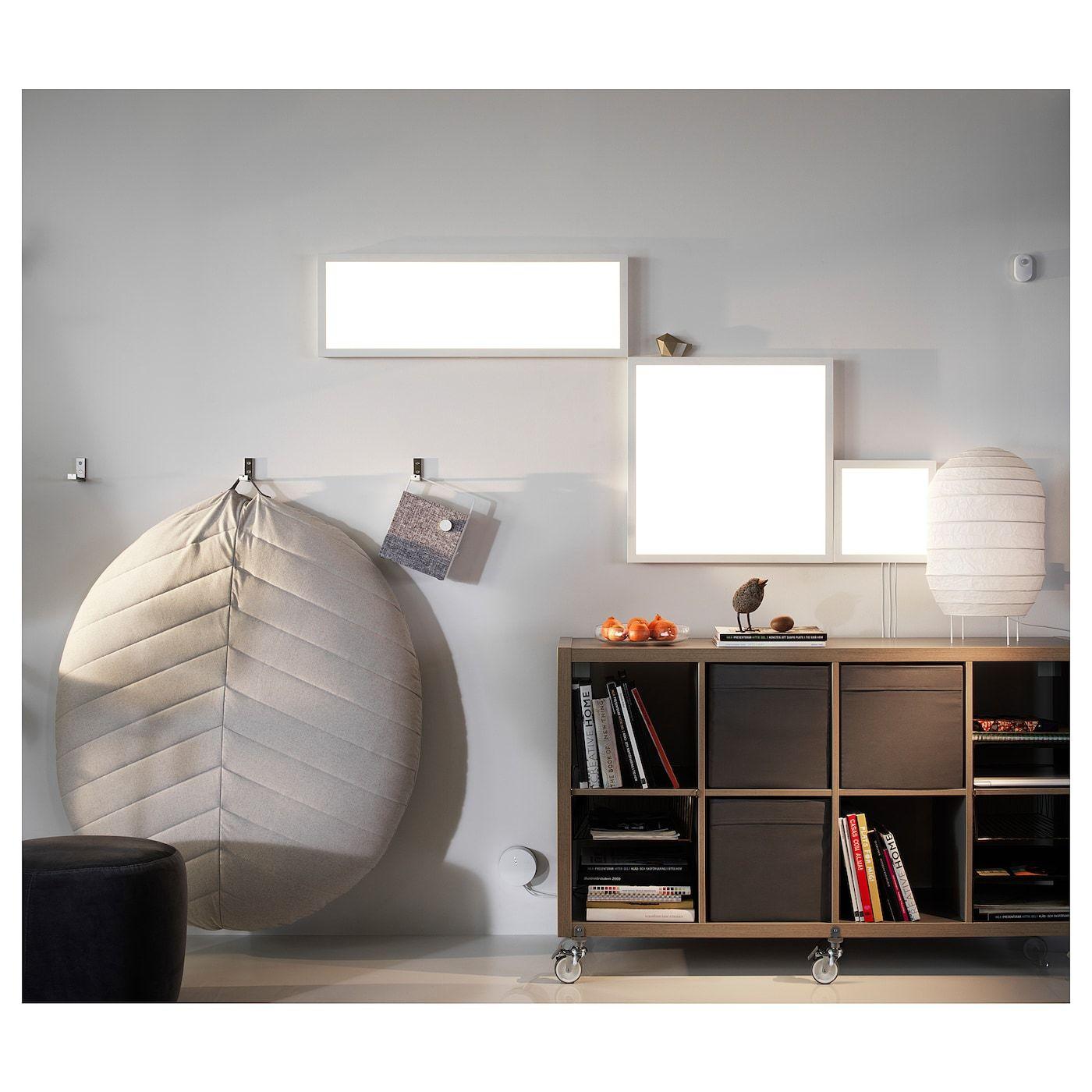 Floalt Led Light Panel Dimmable White Spectrum 24x24 Ikea Led Panel Light Light Panel Led Lighting Diy