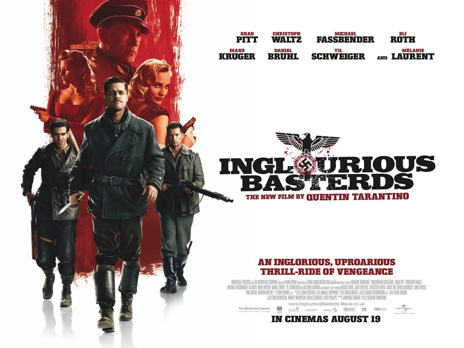 Inglourious Basterds (2009) | Glorious Movie Posters ...