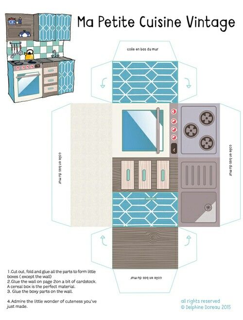 Pin On Paper House Template