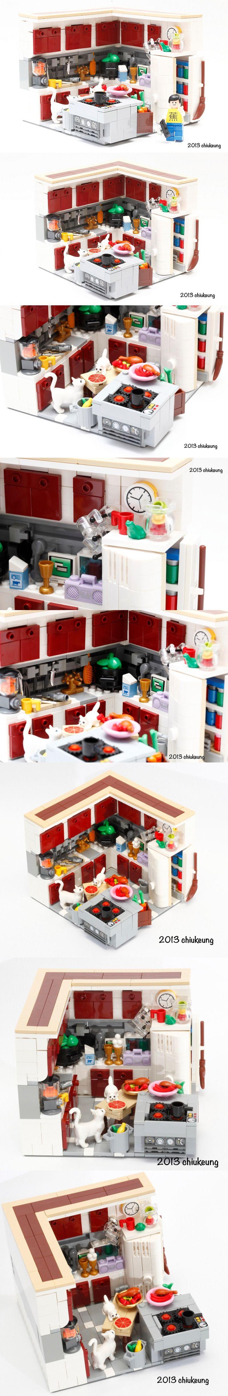 Design My Dream Kitchen My Dream Kitchen Lego Kitchen Lego Architecture Buildings