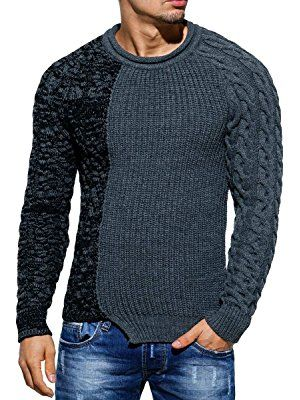 separation shoes b8bbd efba8 Pullover Herren Strickpullover Strick Pulli Winter ...