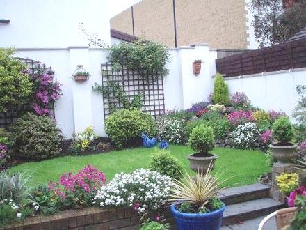 Jardines peque os patio ideas pinterest jard n for Camineros de jardin