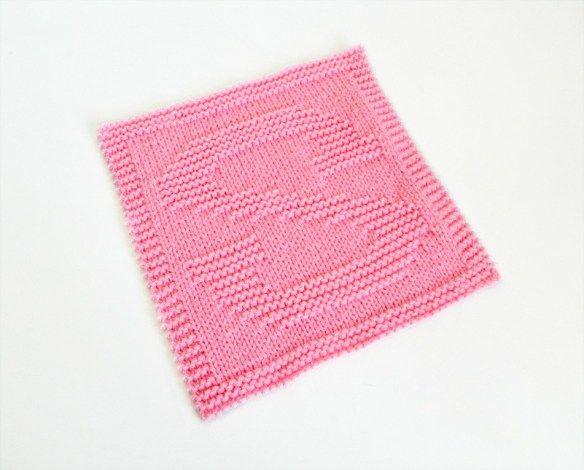 ALPHABET DISHCLOTH: S   Knitting blogs, Dishcloth knitting ...