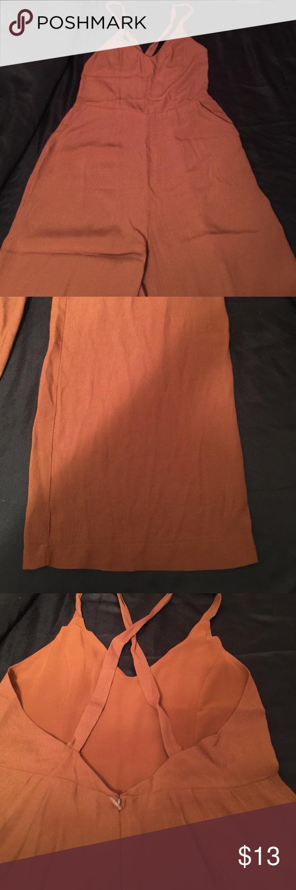 Jumpsuit Rust color Pants Jumpsuits & Rompers