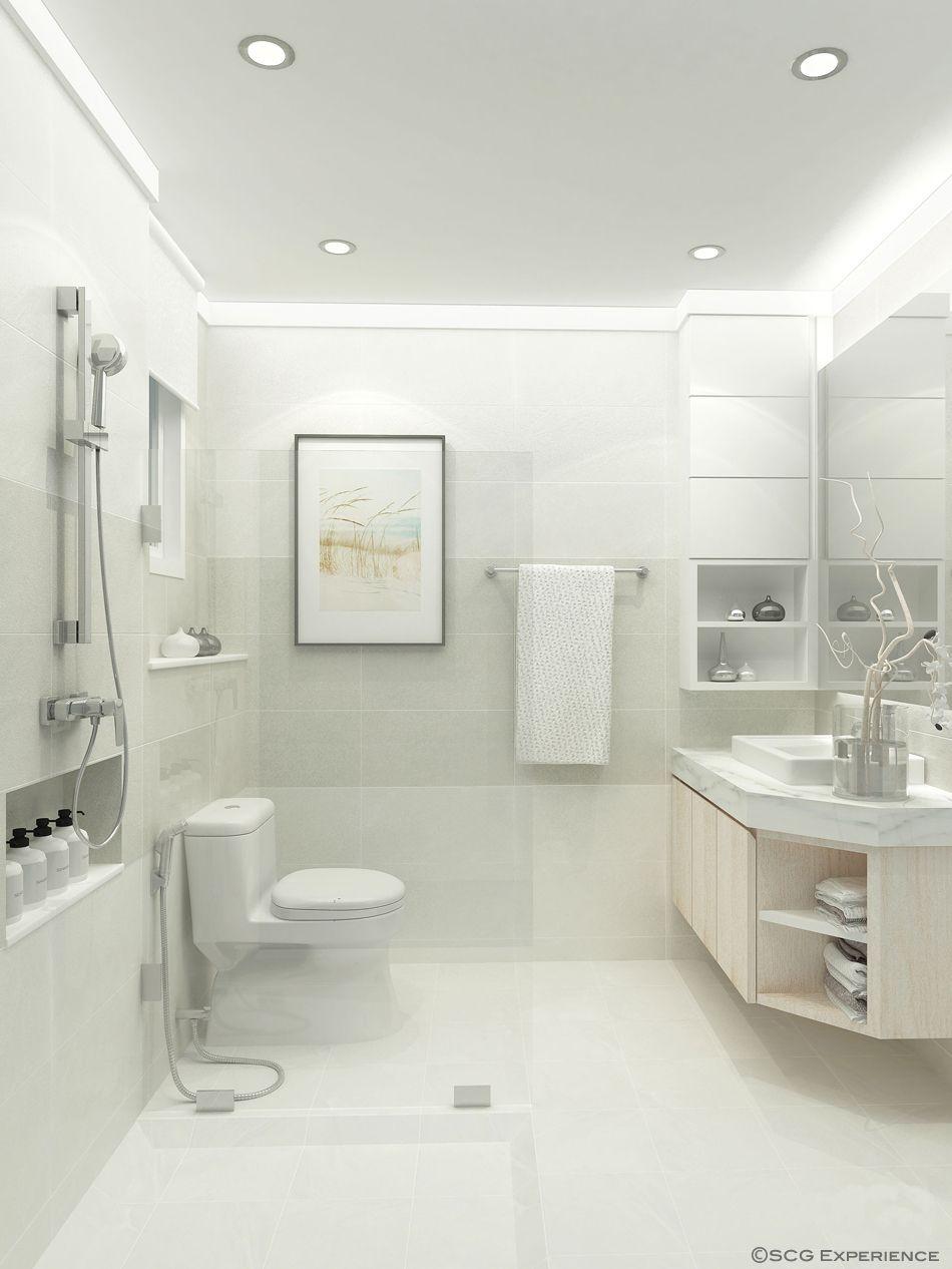 Simplicity in a warm bathroom #SCGexperience #Bathroom | Bathroom ...