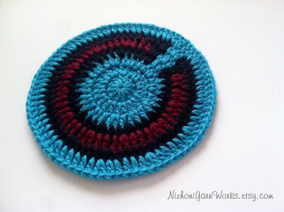 Navajo Inspired Crocheted Coasters Native by NizhoniYarnWorks