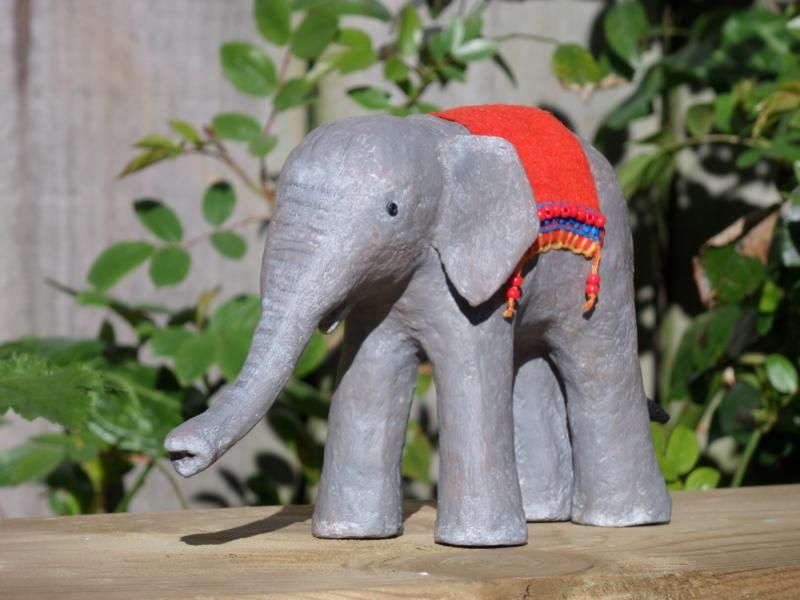 Paper Mache Clay | Ultimate Paper Mache This elephant was made from