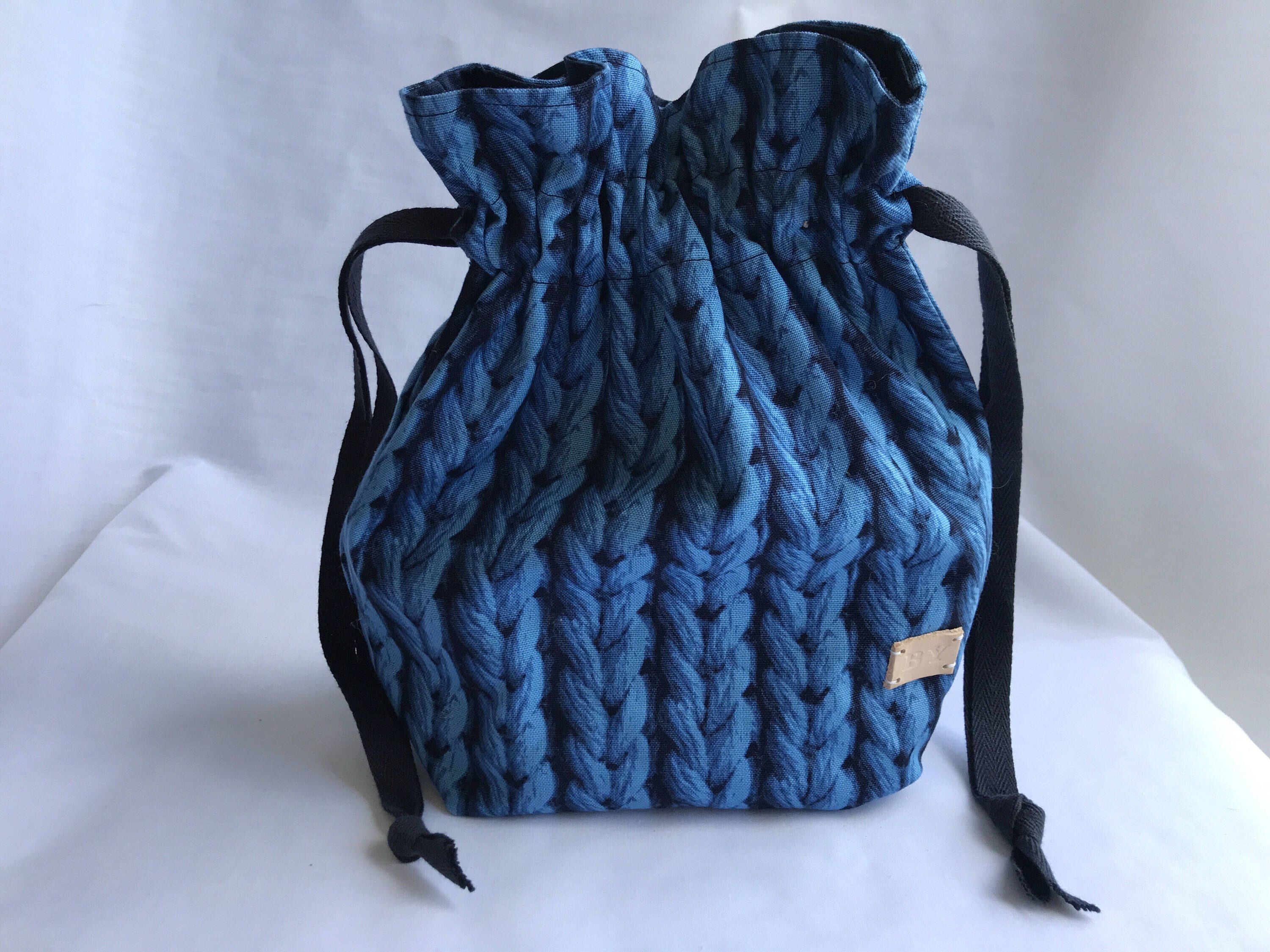 Knitting /& Crochet Project Bag small size