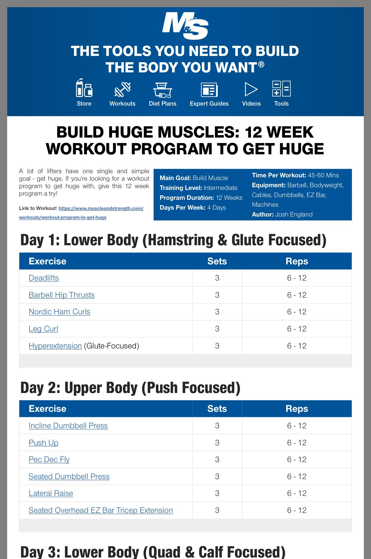 Pin By Fremont On Health Strength Workout Plan Workout Plan Gym Functional Training Workouts