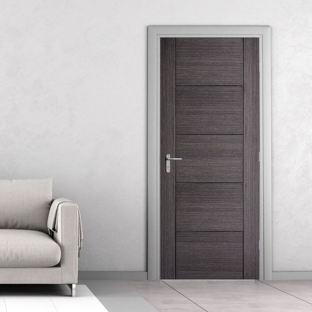 Vancouver Ash Grey Fire Door 1 2 Hour Fire Rated Prefinished Grey Interior Doors Doors Interior Modern Internal Doors Modern