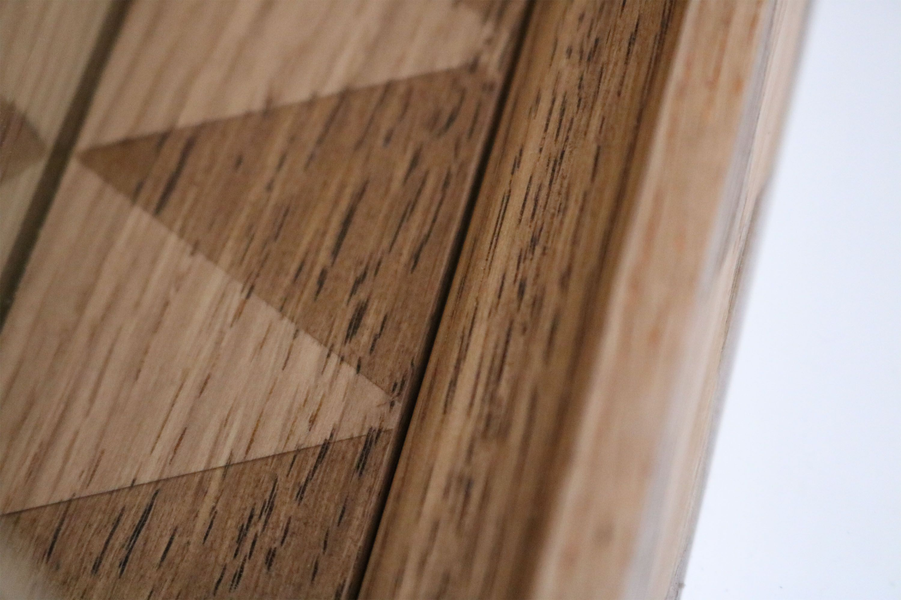 Solid Oak Pattern Frame Wood Grain Patterns