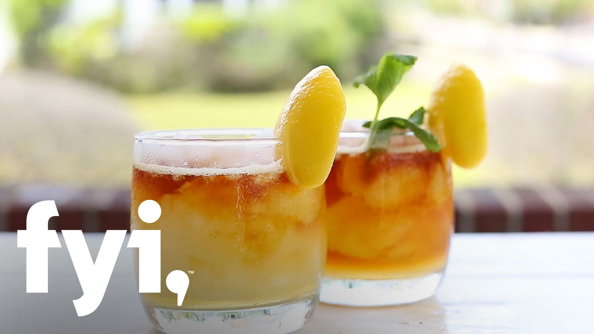 Beat the Heat: Mint to Be Cocktail Recipe | FYI