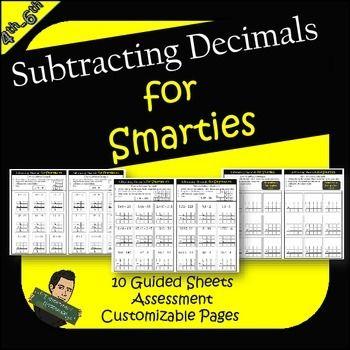 Subtracting Decimals Worksheets Decimal Practice Adding Decimals Subtracting Decimals Subtracting decimals horizontal worksheet