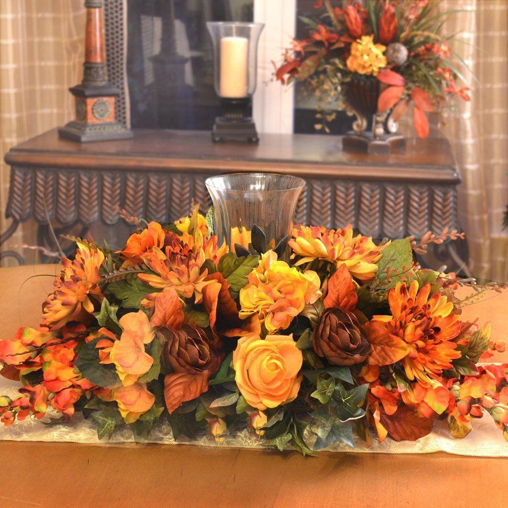 Thanksgiving Floral Centerpiece Flower Arrangements Pinterest