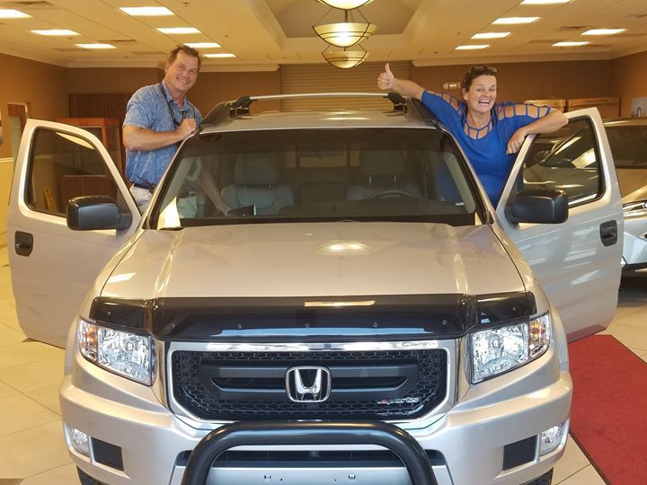 Congratulations To Mr. U0026 Mrs. Skille On Their Honda Ridgeline From Lexus Of Orange  Park Which They Purchased With Our Team Member Lionel!