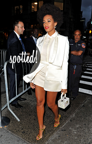 Solange Knowles @ 40/40 club!!!9/18/12...LOVE HER~!~~~~~