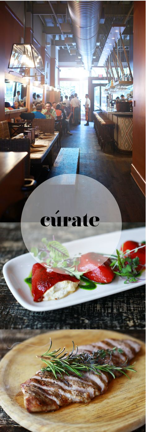 Curate Tapas Bar--plan to spend a whole evening here